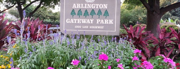Arlington Gateway Park is one of Arlington.