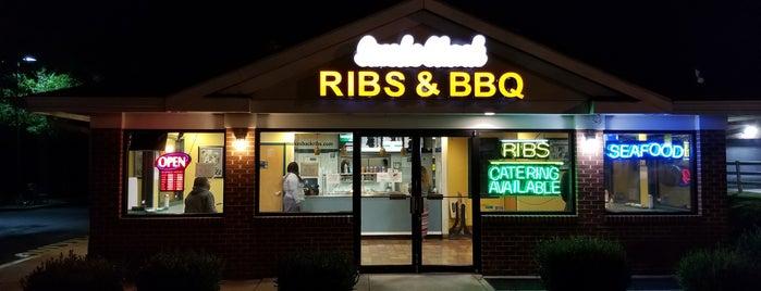 Smokeshack Ribs Restaurant is one of Do: dMv ☑️.