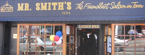 Mr. Smith's of Georgetown is one of dc.