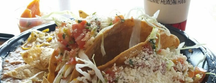 El Ranchito Taco Shop is one of My desert Mexican food list.