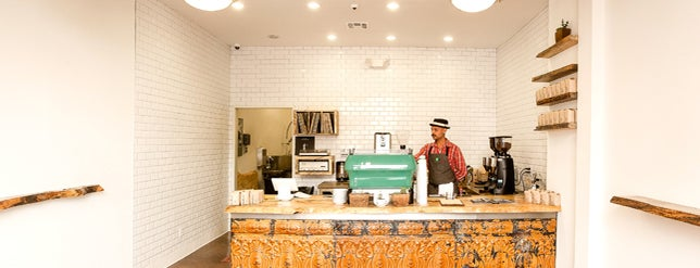 Menotti's Coffee Stop is one of L.A. Coffeeshops for LANG.