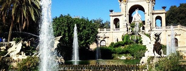 Parc de la Ciutadella is one of lugares donde me siento bien LA BARCELONA OCULTA.