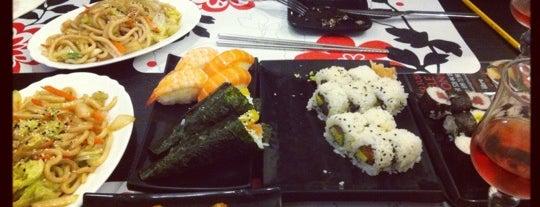 Hoki Sushi is one of comida extranjera.