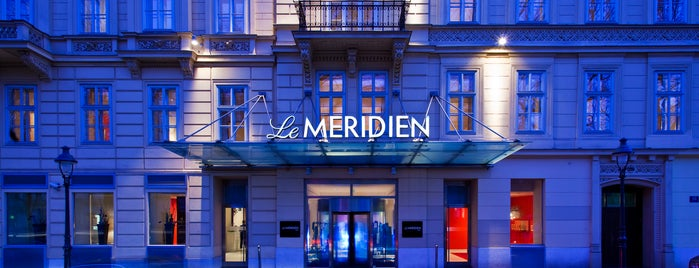Le Méridien Vienna is one of Lugares favoritos de Scott.