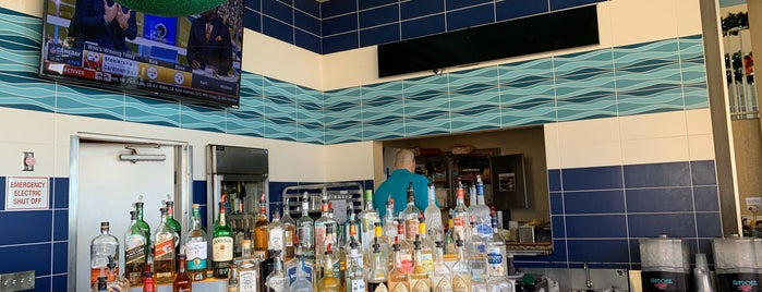 Bongos Bar at Pink Shell Resort and Spa is one of Island Bars.