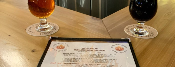 Burning Bush Brewery is one of Breweries I've Visited.