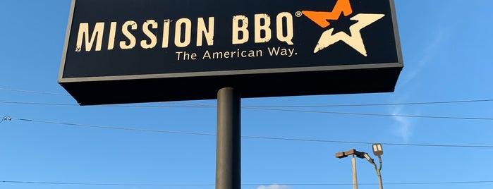 Mission BBQ is one of Posti che sono piaciuti a Dana.
