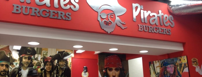 Pirates Burgers is one of Locais curtidos por Emelia.