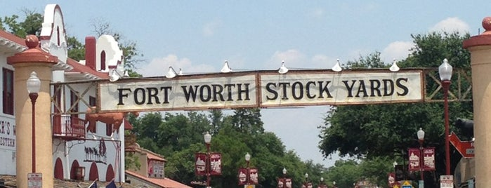Fort Worth Stockyards National Historic District is one of Outdoor fun.