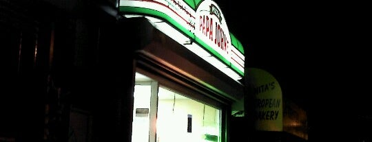 Papa John's Pizza is one of NYC food.