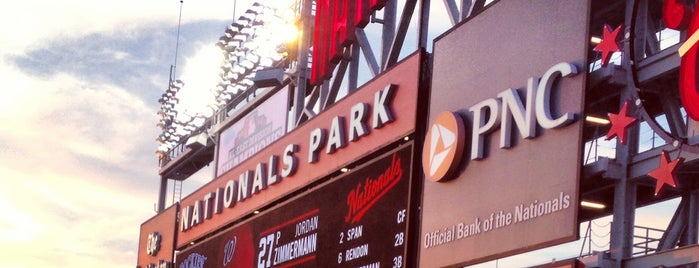 Nationals Park is one of Posti che sono piaciuti a Jen.
