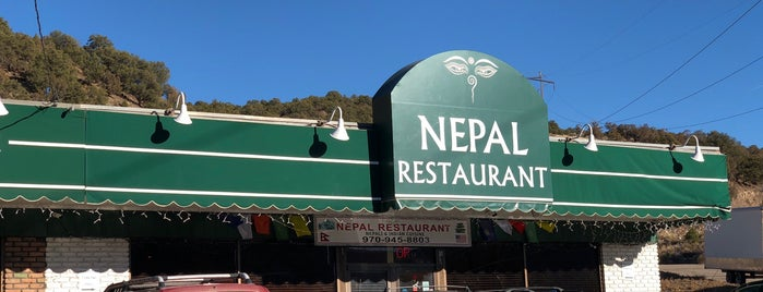 Nepal Restaurant is one of CO: Glenwood Springs.