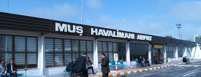Muş Sultan Alparslan Havalimanı (MSR) is one of Airports in Turkey.