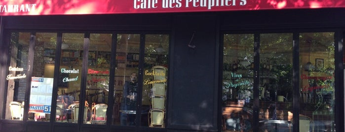 Café des Peupliers is one of Bistros.