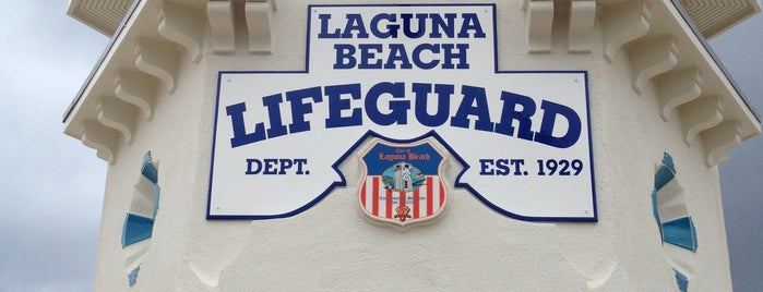 Laguna Beach Historic Lifeguard Tower is one of USA Trip 2013 - The West.