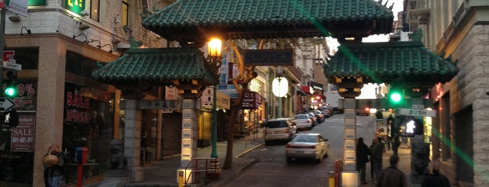 Porte de Chinatown is one of USA Trip 2013 - The West.
