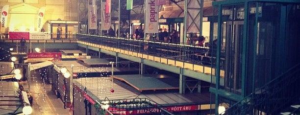 Belvárosi Piac (volt Hold utcai piac) is one of Lieux qui ont plu à Tomas.