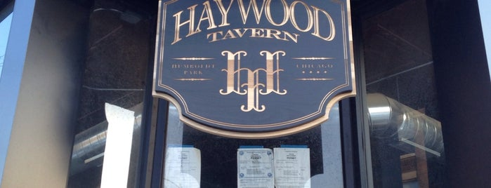Haywood Tavern is one of Chi-Town.