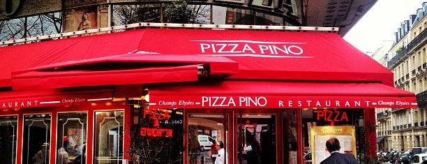 Pizza Pino is one of pizza places of world 2.