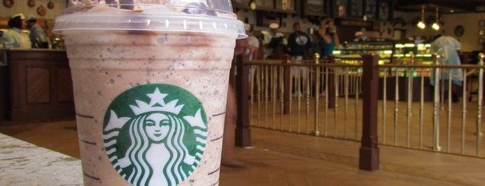 Starbucks is one of Café Delícia.