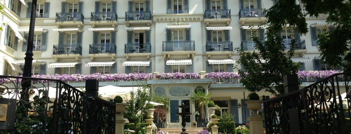 Grand Hotel du Lac is one of Alejandroさんのお気に入りスポット.