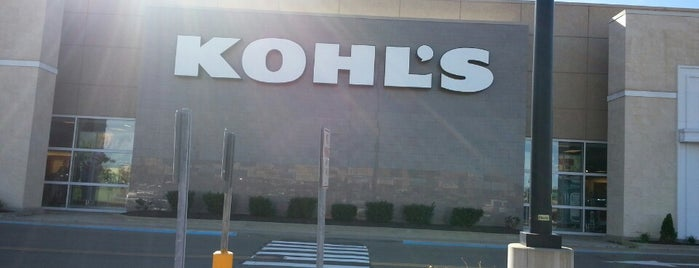 Kohl's is one of New place.