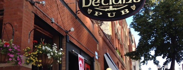 Declan's Irish Pub is one of Dinner.