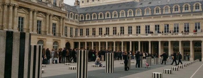 Palais Royal is one of Paris.