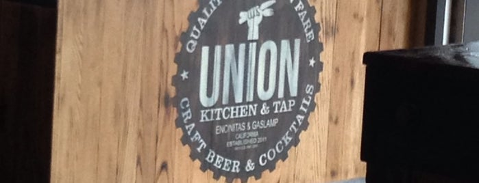 Union Kitchen & Tap is one of SD Vacation.
