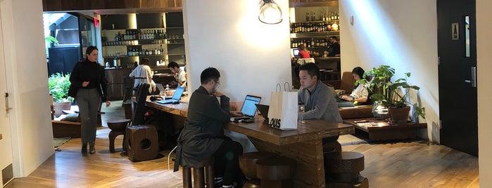 NYC coffee workspaces