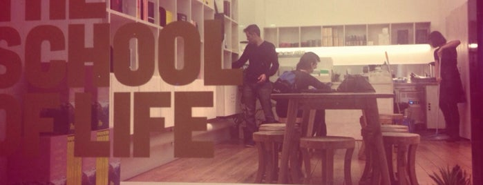 The School of Life is one of Yury'un Beğendiği Mekanlar.