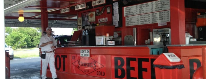 Stewart's Drive-In is one of INSAHD! Been There, Done That (NJ).