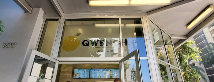 Qwench Juice Bar is one of Nobody Walks in LA.