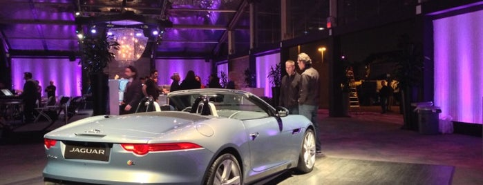 Jaguar British Invasion Party @ Paramount Studios is one of so cal.
