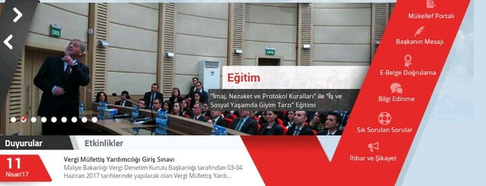 T.C. Maliye Bakanlığı Vergi Denetim Kurulu İstanbul Grup Başkanlığı is one of Tempat yang Disukai Nihat.