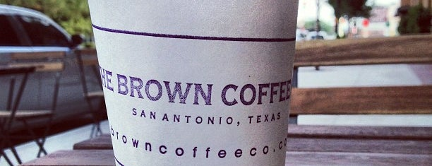 Brown Coffee Company is one of Texas trip.
