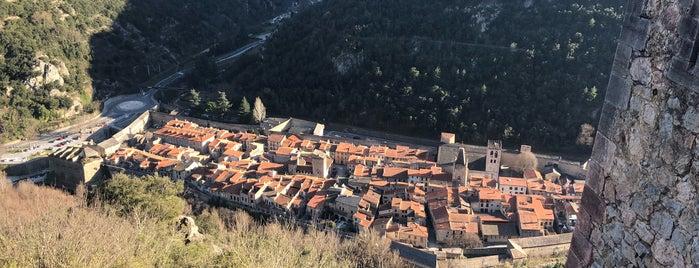 Villefranche-de-Conflent is one of Les plus beaux villages de France.