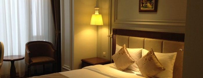 Hanoi Pearl Hotel is one of Patty'ın Kaydettiği Mekanlar.