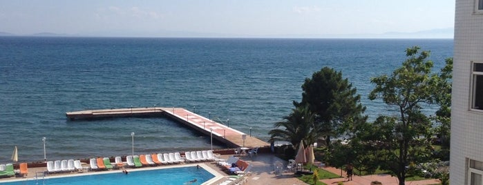 Hotel Rena Beach is one of สถานที่ที่ Türkay ถูกใจ.