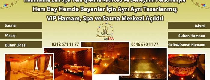 HAMMAME Zen SPA is one of Lugares guardados de Ahmet.