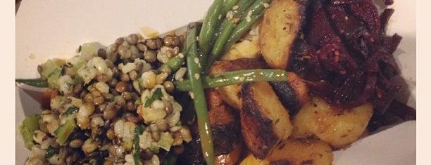 Beatroot Vegetarian Café is one of London.
