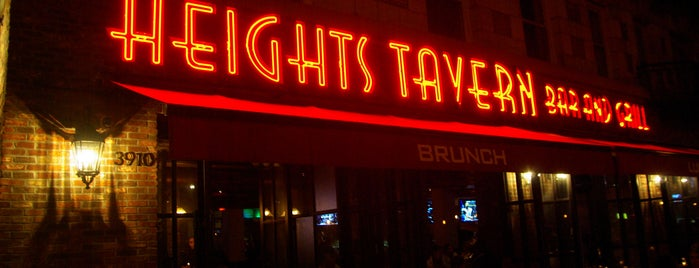 Heights Tavern is one of Happy Hour Spots.