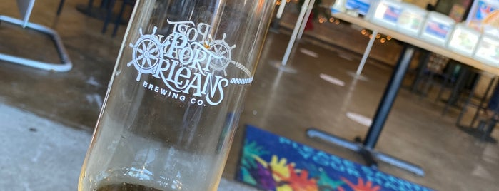 Port Orleans Brewing Co. is one of Hilton dining.