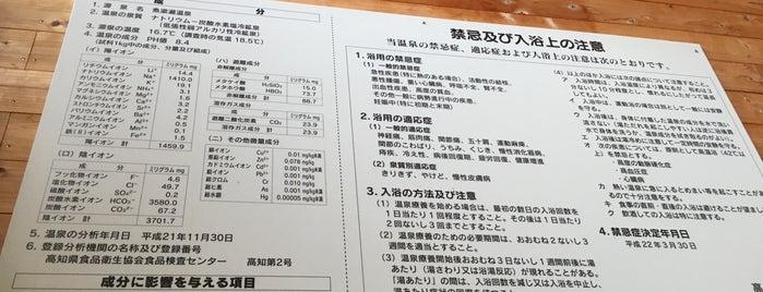 やなせの湯 is one of プチ旅行に使える!四国の温泉・銭湯 ~車中泊・ライダー~.