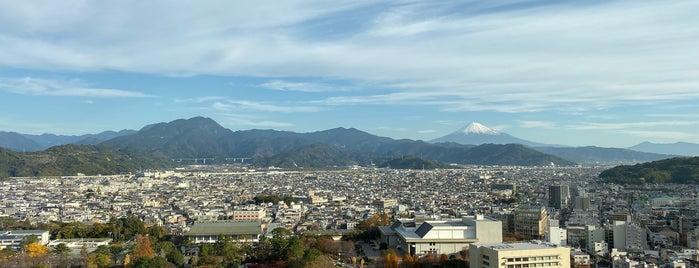 静岡県庁別館 展望ロビー is one of Masahiro : понравившиеся места.