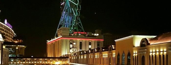 義大摩天輪 E-DA Ferris Wheel is one of Kaohsiung.