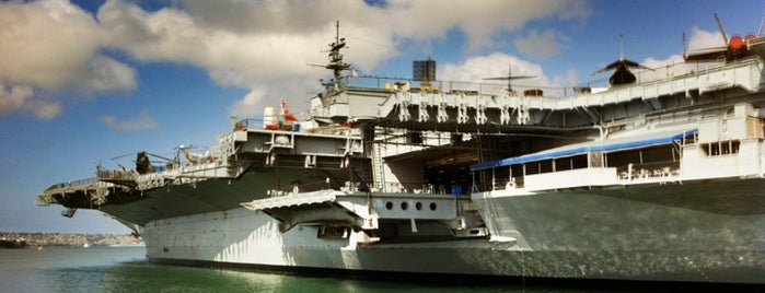 USS Midway Museum is one of Aerospace Museums.