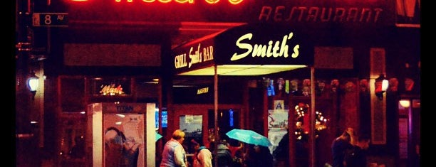 Smith's Bar & Restaurant is one of want to go eat.