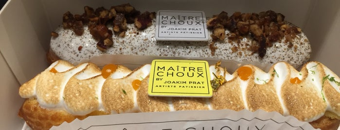 Maitre Choux is one of Desserts in London.