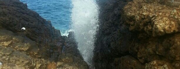 Hummanaya Blow Hole is one of places to visit.